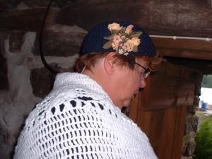Anette Wisell som Regina, hushållerskan.