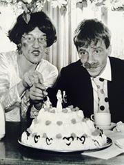 Hjalle och Sophie bröllopstårta