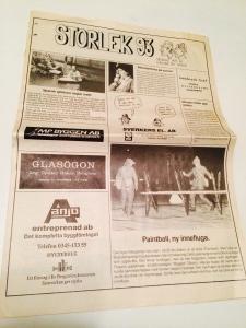 Tidningen = Programblad