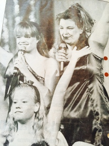 Veronica, Ylva och Annelie