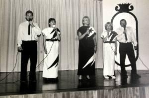 Hans, Birgitta, Anita, Sary, och Keijo