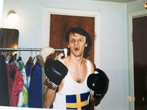 Lekomotiv  Totte som boxare