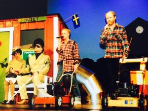 Sista revyn  Kanalstadens villaförening